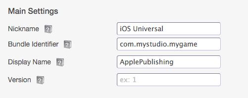 apple pub bundle id